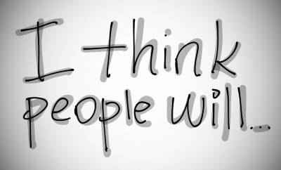 I think people will