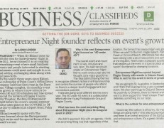 Entrepreneur Night founder Reflects on Event's Growth