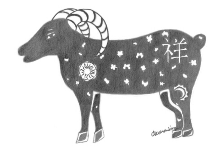 2015, the Year of the Sheep, a harbinger of Luck and Positive Energy