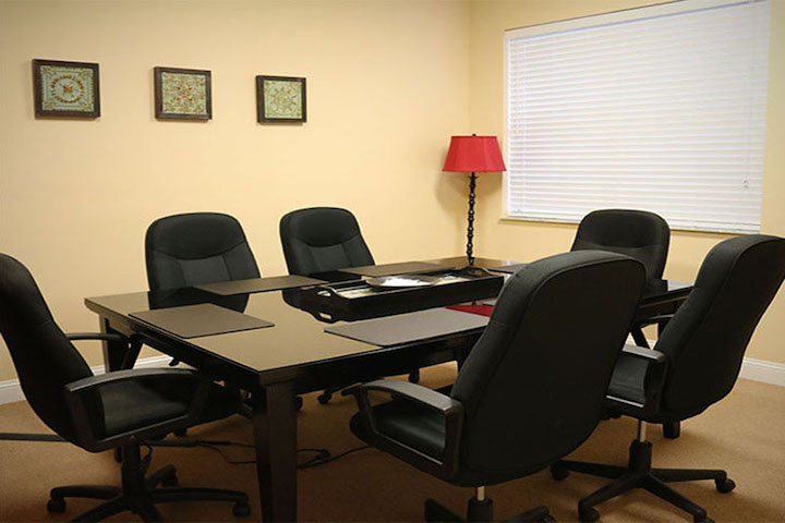 Event-Space-Palm-Coast-Florida -New-Black-Red-Conference-Room-Configuration (1)