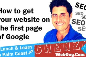 How To Get Your Website First Page on Google