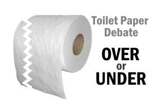 Toilet Paper: Over or Under?