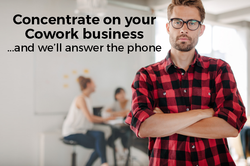 Phone Answering for Coworking Spaces