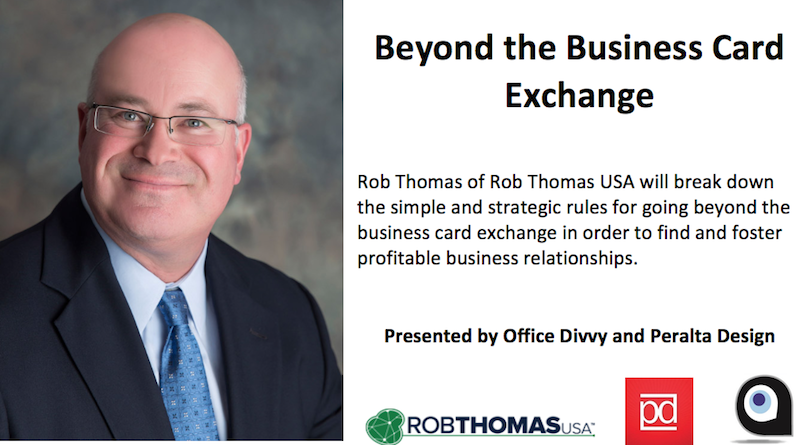 Beyond the Business Card Exchange